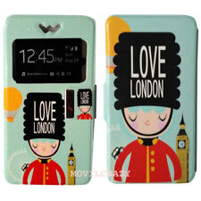 "FUNDA LIBRO VENTANA DIBUJO UNIVERSAL TALLA XL PARA MOVILES 4.8"" a 5.2"" LONDON"