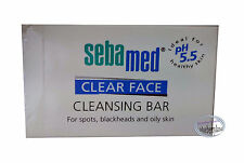 Sebamed Clear Face Cleansing Bar soap 100g ladies man men Skin care pores acnes