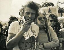 JOHNNY HALLYDAY 70s VINTAGE PHOTO ORIGINAL #109