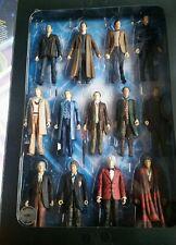 """Dr. Who Thirteen Doctors Collectors Box Set 13 Action Figures 5.5 """" NIB WAR 12th"""