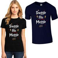 Snuggle This Muggle T Shirt, Harry Potter Muggles Gryffindor Hogwarts Magic Top