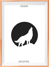 Wolf Halloween Mylar Plantilla Reutilizable Aerógrafo Pintura Arte Artesanía Bricolaje Casa