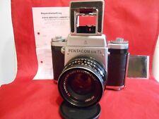 Pentacon Six TL Spiegelreflexkamera Kamera Objektiv Lens Biometar MC 2,8/80