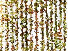Cortina de puerta follaje estilo natural verde 90x180cm