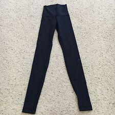 Lululemon Wunder Under Pant Hi Rise Cotton Stripe Size 2
