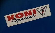 Koni especial calcomanía / etiqueta adhesiva X2
