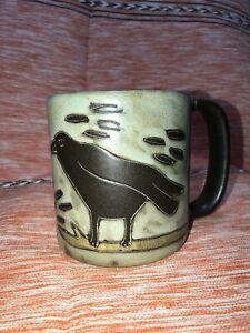 Ravens Mara Mug in lead free stoneware   16oz