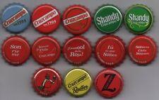 13 different CRUZCAMPO kronkorken beer bottle caps chapas tappi