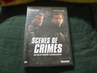 "DVD NEUF ""SCENES DE CRIMES"" Charles BERLING, Andre DUSSOLLIER"
