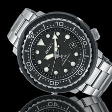 New SEIKO PROSPEX Solar Tuna Diver's 200 SNE497P1 Stainless steel Band 46.7mm