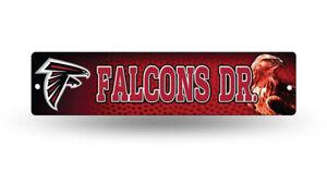 """Atlanta Falcons Street Sign NEW! 4""""X16"""" """"Falcons Dr."""" Man Cave NFL"""