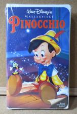 WALT DISNEY MASTERPIECE PINOCCHIO VHS SEALED Restored to its original (PG1912)