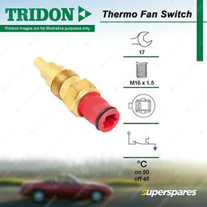 Tridon Thermo Fan Switch for Toyota 4 Runner Hilux RN85 -RN110 LN85 - LN111