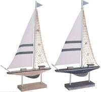 62cm Tall Sailing Boat Decor Centerpiece Boat on A Stand