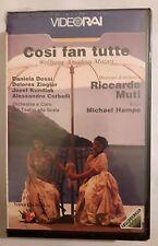 CS2> Film VHS Così fan tutte - Wolfgang Amadeus Mozart Video Rai - SIGILLATA
