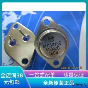 5pc  MJ15015G DIP TO-3 MJ15015 power transistor gold seal