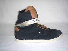 Tommy Hilfiger Schuhe Herrenschuhe Ledersneaker Turnschuhe Dunkelblau Gr.45 NEU!