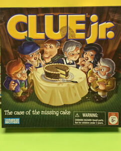 2005 PARKER BROTHER CLUE JR CASE OF THE MISSING CAKE-Replacement Parts You Pick
