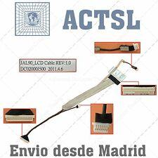 Cable de Video LCD Flex para Acer Aspire Dc02000J500 (With Camera Connector)