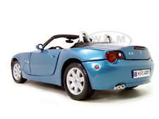 BMW Z4 BLUE CONVERTIBLE 1:18 DIECAST MODEL CAR BY MOTORMAX 73144