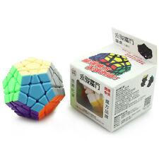 New Yongjun Yuhu Megaminx Twisty Puzzle Stikersless Professional Magic Cube Gift
