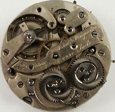 Fredric Huguenin Pocket Watch Movement - Grade High-Grade- Spare Parts,Repair