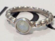 Authentic Pandora Cloudy Green Prehnite Bubble Ring 190244 Retired Rare Size 60