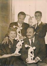 J.François, J.Constantin, C.Véjac, P.Hiegel 1955 - Statues de Discobole - PR 371
