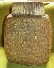 Große Studio Keramik Vase Asshoff Ära; Pinselsigniert
