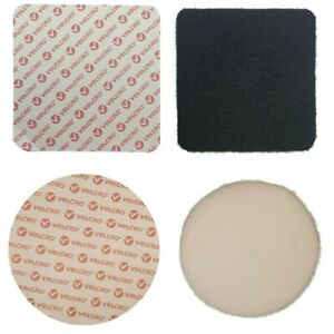 Velcro Self Adhesive Sticky Pads Discs Hook & Loop Size 35mm 40mm 45mm 50mm 55mm