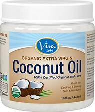 Coconut Viva Naturals Organic Extra Virgin Coconut Oil, 16 Ounce