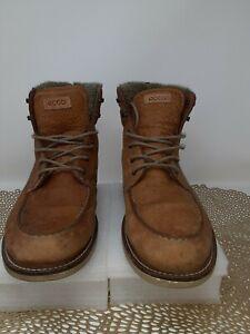 ECCO Men's Hydromax Boot Leather EU 44 US 10/10.5