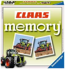 72 Karten Ravensburger Kinderspiel Legekartenspiel CLAAS memory 22171