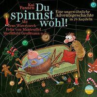 KAI PANNEN - DU SPINNST WOHL - EINE UNGEWÖHNLICHE ADVENTSGESCHICHTE -  CD NEU