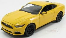 Ford Usa Mustang Coupe 5.0 Gt 2015 Yellow Maisto 1:18 MI31197Y