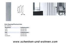 Magnetgriff für Flächenvorhänge Rechteck 30x100 mm Silber