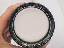 Rare - Kowa 77mm F1.1 Fast X-Ray Macro Lens For Camera Adaptation
