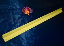 "Pickett P-232 A-Es 12"" Triangular Scale Ruler Architect Engineer Drafting Yellow"