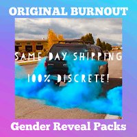 Gender Reveal Car Tire Burnout Bag Holi Color Powder Pack Exhaust Colored Smoke