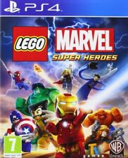 LEGO Marvel Super Heroes Game for Playstation 4 PS4 MINT - FAST DELIVERY