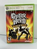 Guitar Hero: World Tour (Microsoft Xbox 360, 2008)