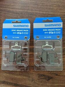 Shimano G01S disc brake pads - 2 pairs