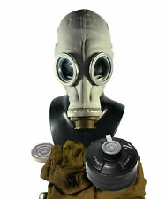 Soviet russian military Gas mask GP-5 Grey rubber Full set NEW NATO Filter CFF3