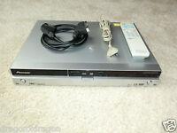 Pioneer DVR-440H DVD-Recorder / 80GB HDD, inkl. FB, DEFEKT / Brennfehler DVD