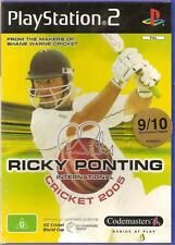 Ricky Ponting - International Cricket - 2005 ! Play Station - 2 Game ! PS - 2 !