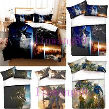 New Transformers Bedding Set Optimus Prime Ultra Magnu Duvet Cover Pillow Case