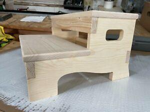 Wood Step Stool Kids Childs Bathroom Step Stool Wooden Stable Design Unfinished