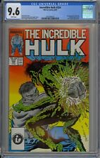 Incredible Hulk #334 CGC 9.6 NM+ Wp 1st Half-Life Marvel Comics 1987 McFarlane