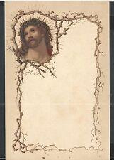 Ancient letter of Ecce Homo santino image pieuse lamina