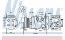 NISSENS Kompressor 12V für FORD FOCUS 89071 - Mister Auto Autoteile